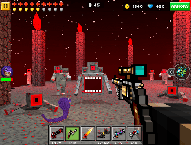Play Pixel Gun 3D on PC 9