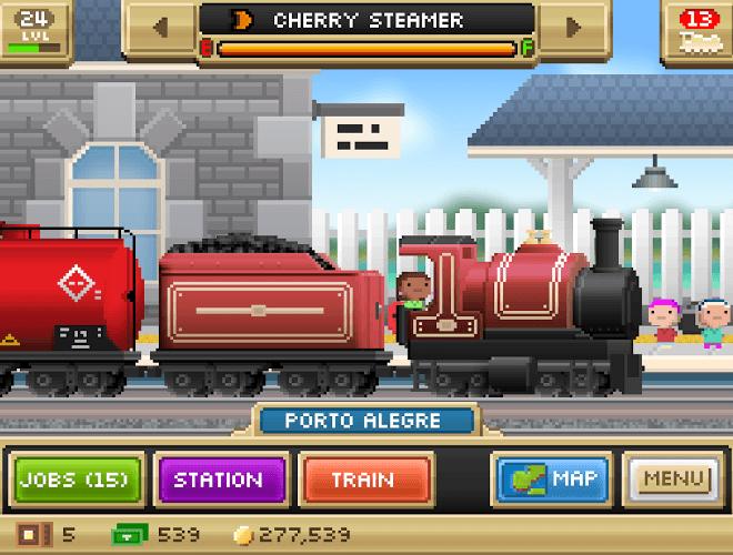 Играй Pocket Trains На ПК 8