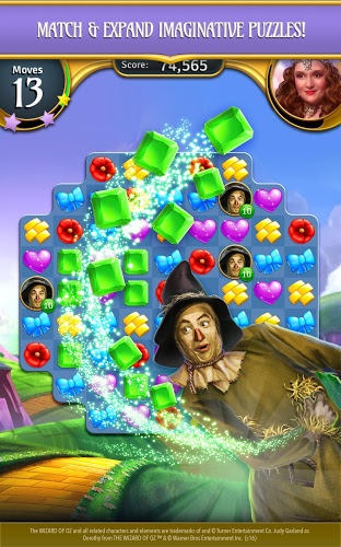 Play Wizard of Oz: Magic Match on PC 12