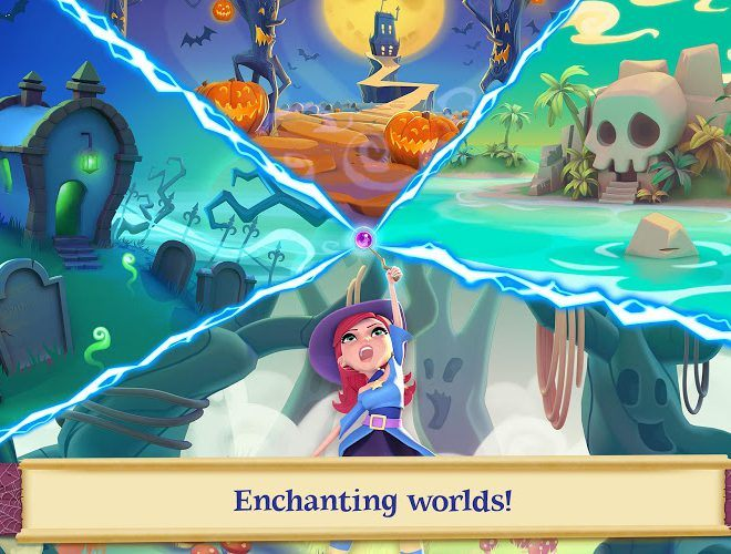 เล่น Bubble Witch Saga 2 on PC 11