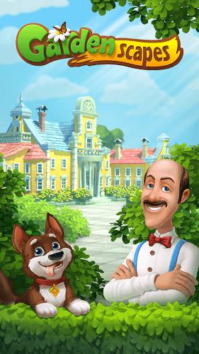 Spiele Gardenscapes auf PC 7