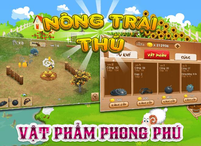 Chơi Nong Trai Thu – Dau Truong Thu on PC 10