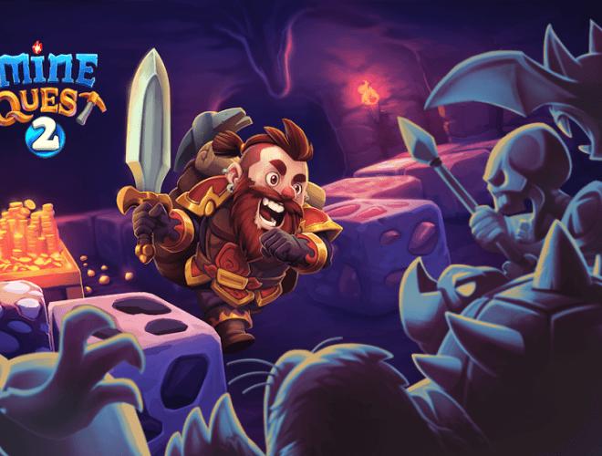 Играй Mine Quest 2 На ПК 3
