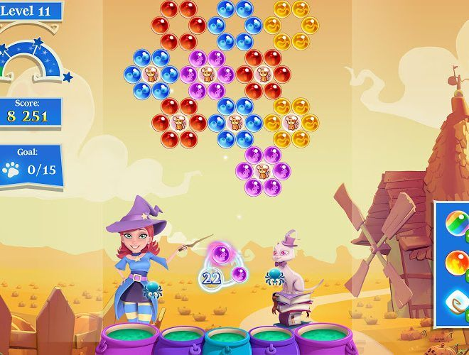 เล่น Bubble Witch Saga 2 on pc 14