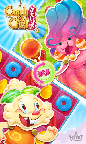 เล่น Candy Crush Jelly Saga on PC 7