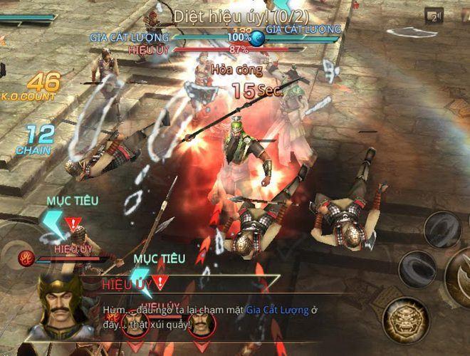 Chơi Dynasty Warriors Unleashed on PC 7