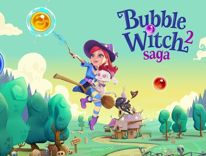เล่น Bubble Witch Saga 2 on pc 19