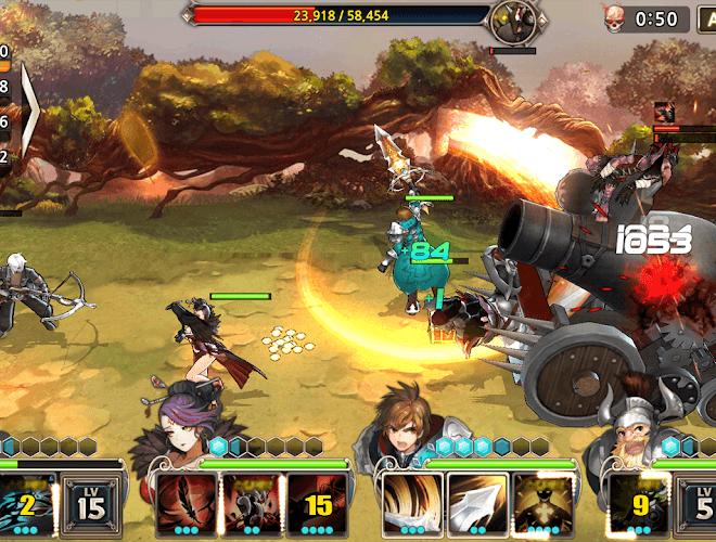 เล่น King's Raid on PC 9