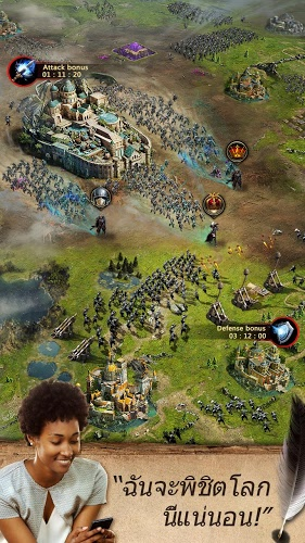 เล่น Clash of Queens on PC 6