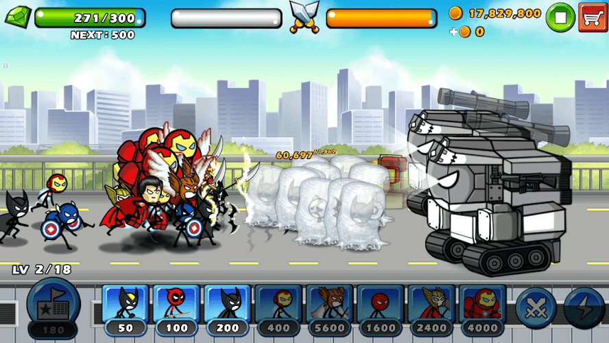 Chơi HERO WARS: Super Stickman Defense on PC 17