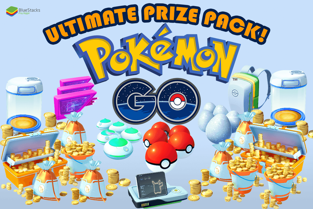 We're giving away the Ultimate Pokémon GO prize pack!