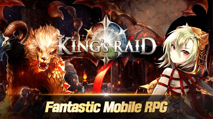 kings raid update download