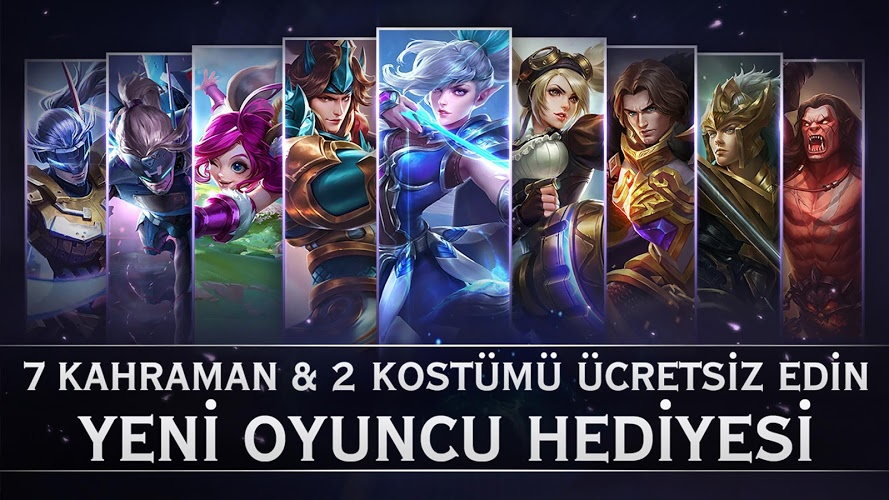 Mobile Legends: Bang bang İndirin ve PC'de Oynayın 3