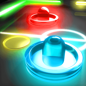 Play Glow Hockey 2 on PC