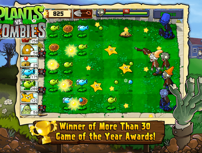 เล่น Plants vs Zombies on PC 8
