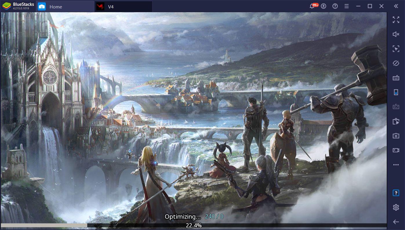 Enjoy Nexon's Latest MMORPG V4 on PC with BlueStacks