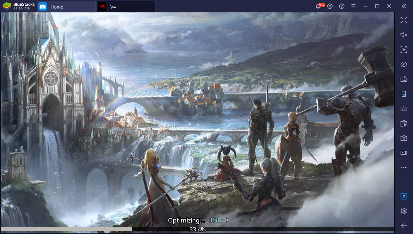 V4 – Nexon's Stunning New MMORPG Just Launched