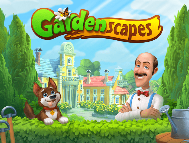 Играй Gardenscapes on pc 13