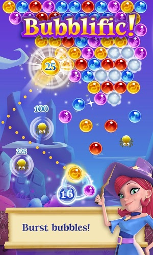 เล่น Bubble Witch Saga 2 on PC 3