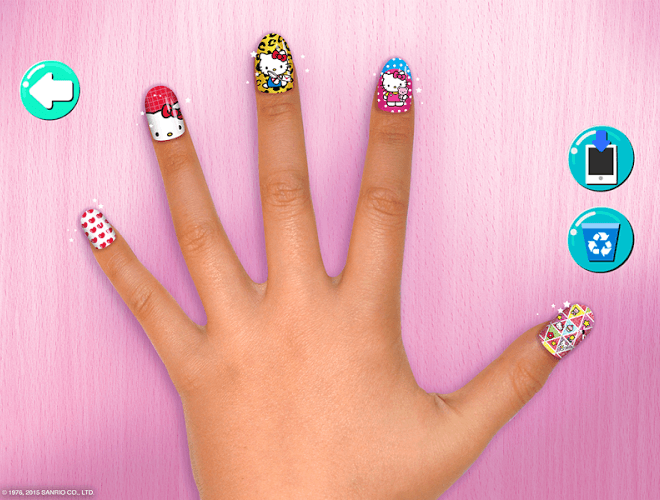 Play Hello Kitty Nail Salon on PC 15