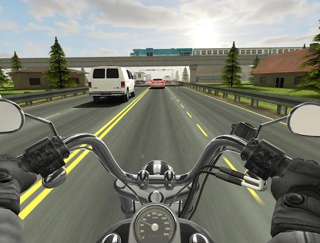 เล่น Traffic Rider on PC 9
