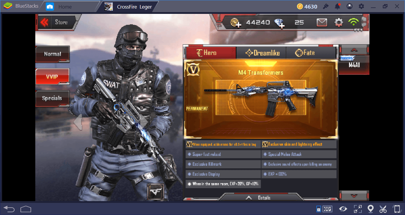 Crossfire Legends VVIP and VIP Guide | BlueStacks