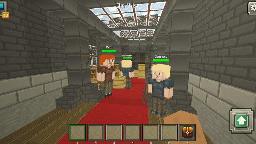 Hide n seek jail *fun* arena map minecraft project.