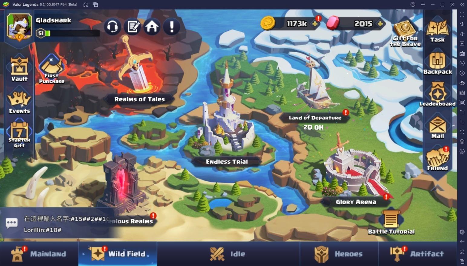 Guide du Débutant de BlueStacks pour Valor Legends: Eternity