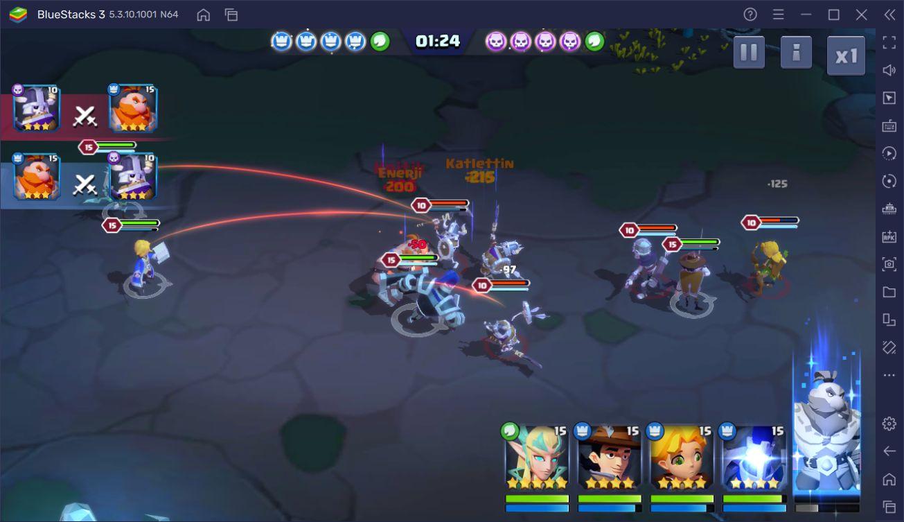 Valor Legends: Eternity Savaş Sistemi