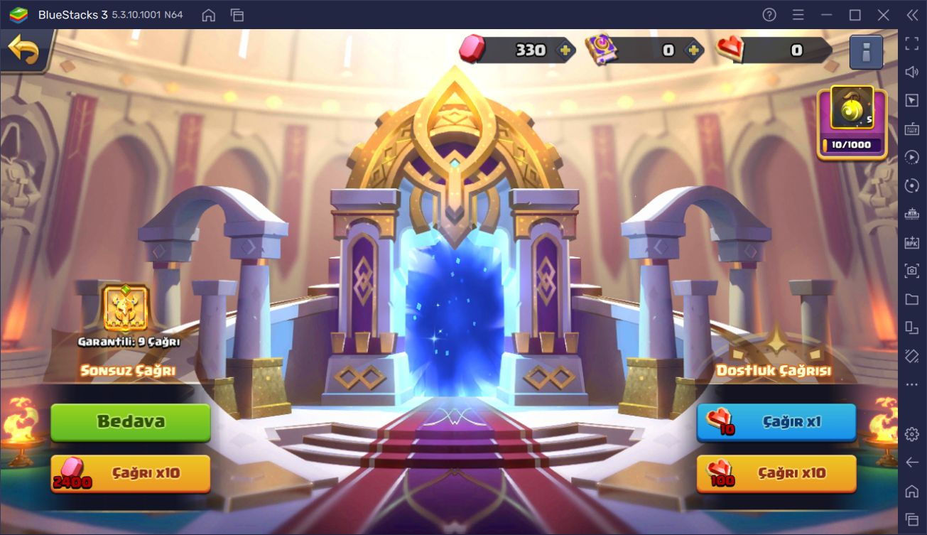 Valor Legends: Eternity BlueStacks İncelemesi