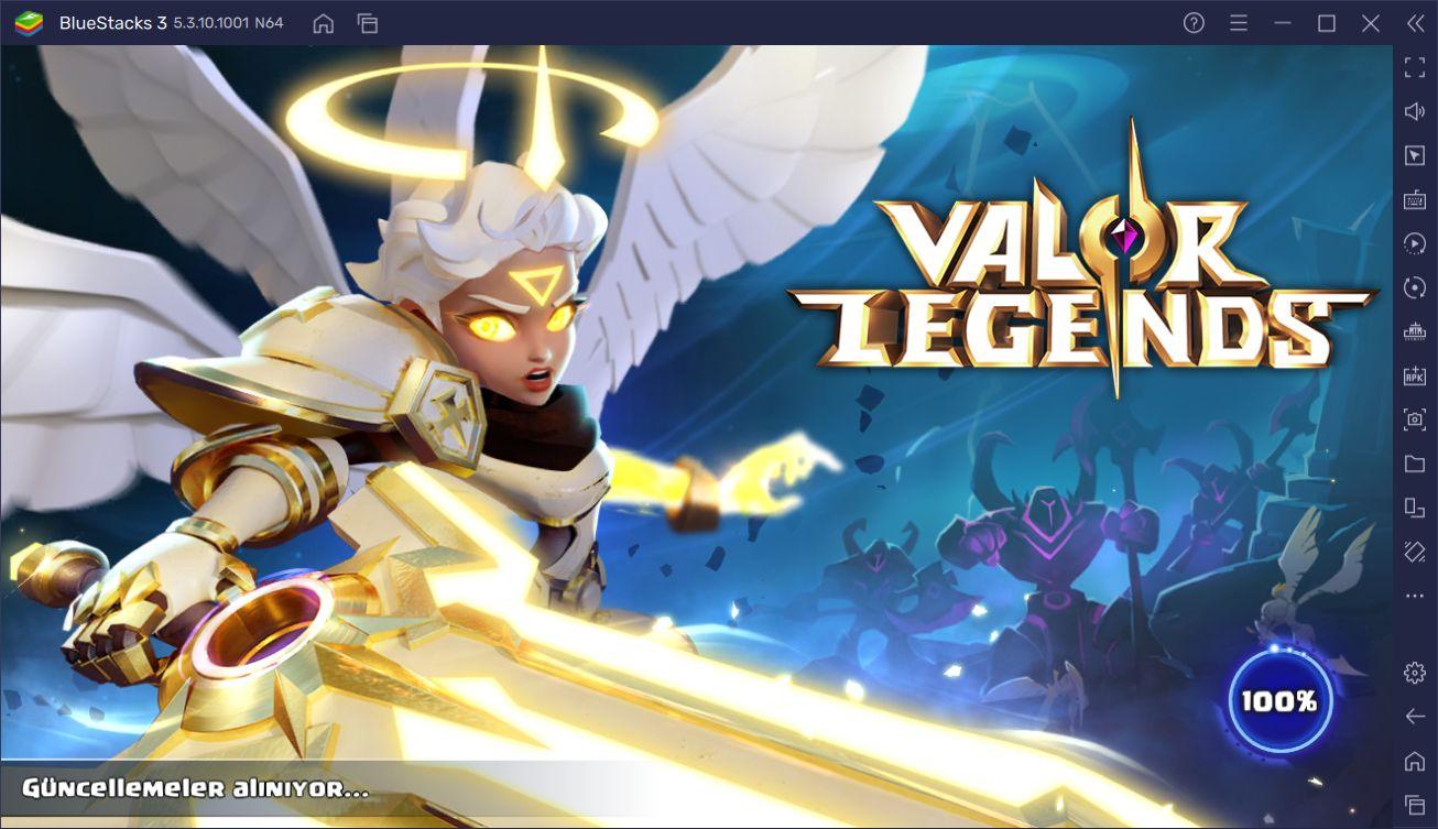 Valor Legends: Eternity Oyununu Bilgisayarda Oynayın