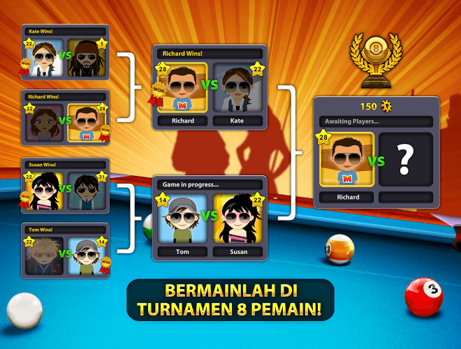 Main 8 Ball Pool on PC 9