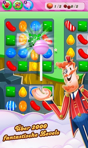 Spielen Candy Crush on pc 5