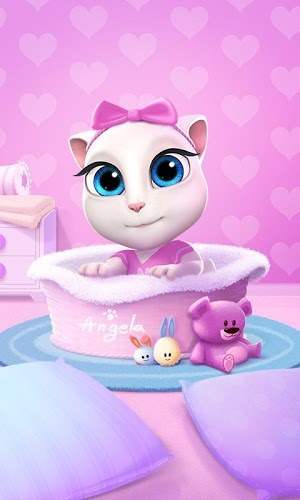 เล่น Talking Angela on PC 2
