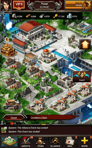 Play Game of War on PC 20
