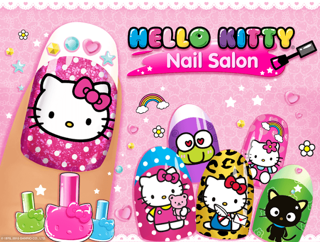 Play Hello Kitty Nail Salon on PC 12