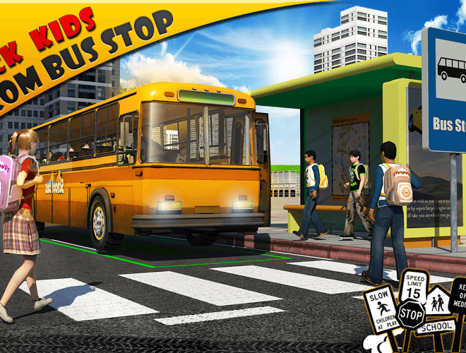 Play School bus Driver 3D on PC 7