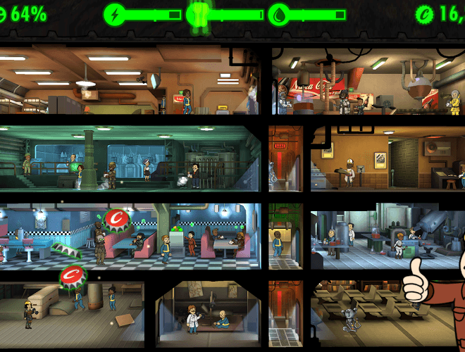 Spielen Fallout Shelter on pc 7