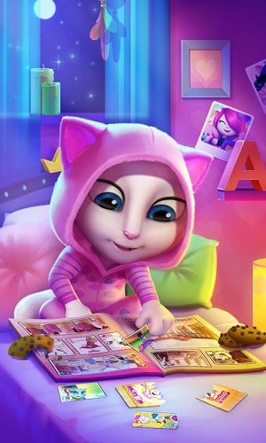 Играй Talking Angela on pc 6