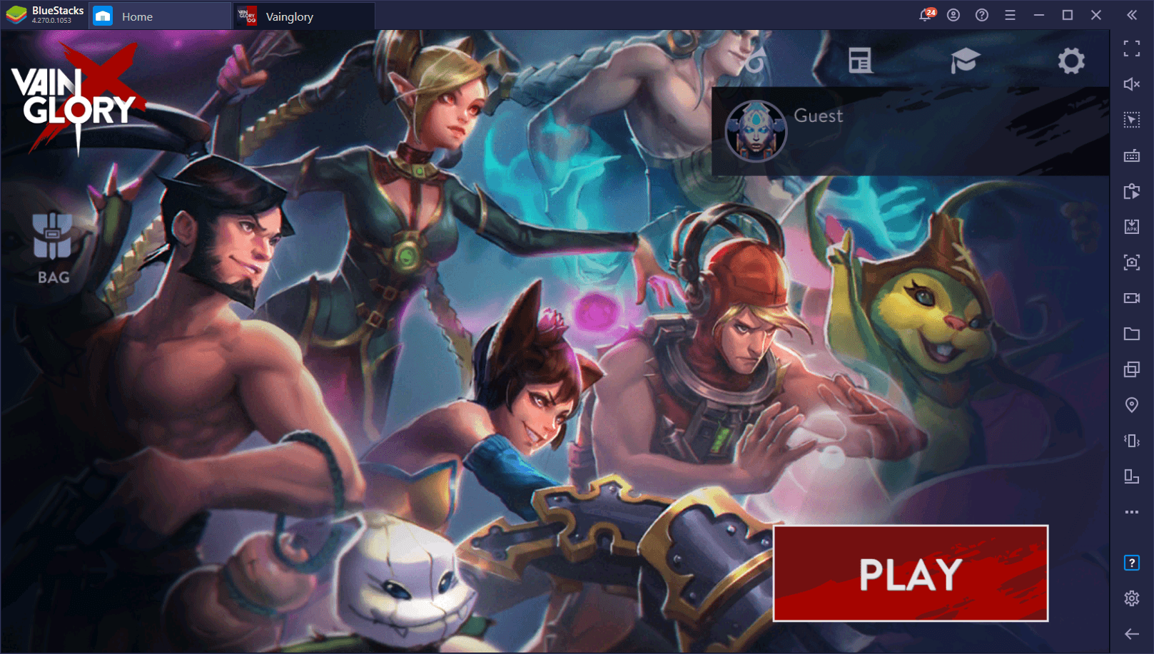 How to Play Vainglory on PC with BlueStacks and Access the Best Tools to Help You Win