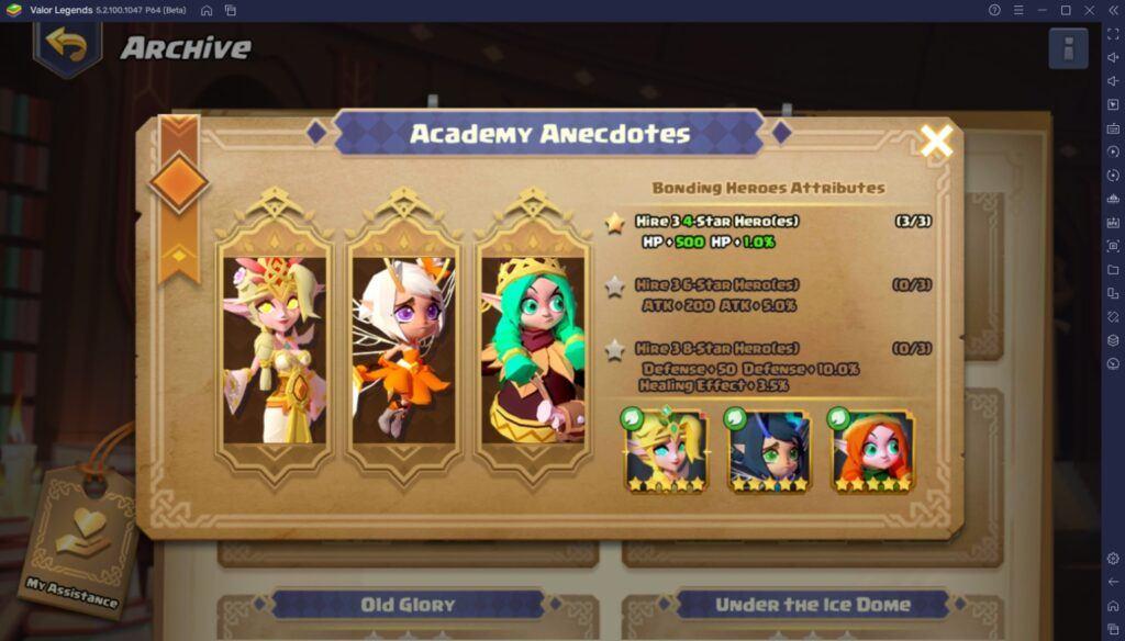 Valor Legends: Eternity – Ein Leitfaden für Helden