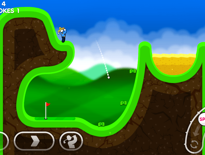 Играй Super Stickman Golf 3 На ПК 2