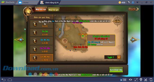 Hướng dẫn cài đặt và chơi Vĩnh Hằng Kỷ Nguyên trên máy tính với BlueStacks