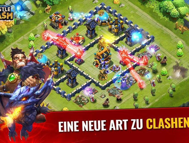 Spiele Castle Clash für PC 3
