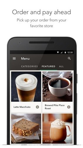 Play Starbucks app on pc 5