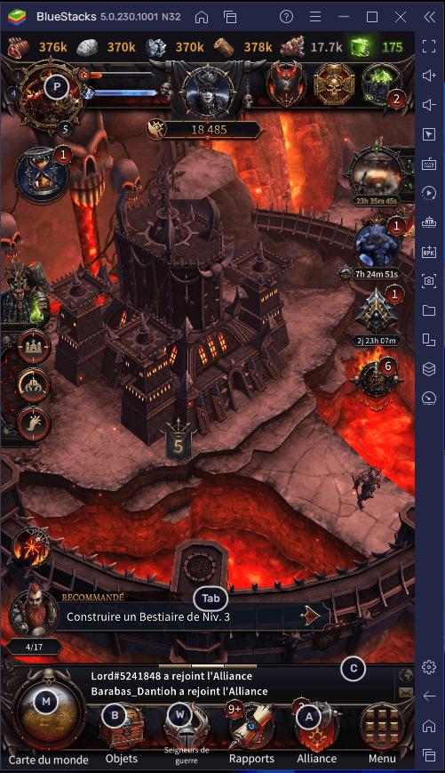 Anéantissez vos Ennemis dans Warhammer: Chaos & Conquest Grâce aux Outils de BlueStacks