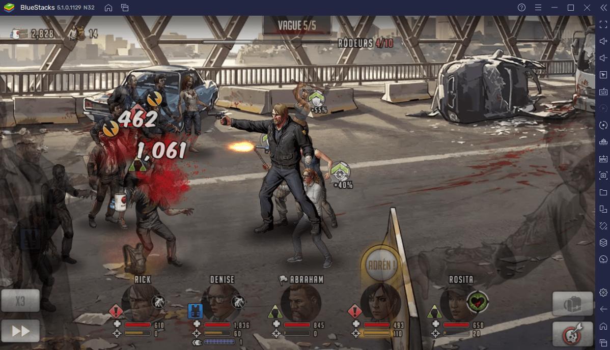 Comment Utiliser les Tactiques de Combat sur PC dans The Walking Dead: Road to Survival