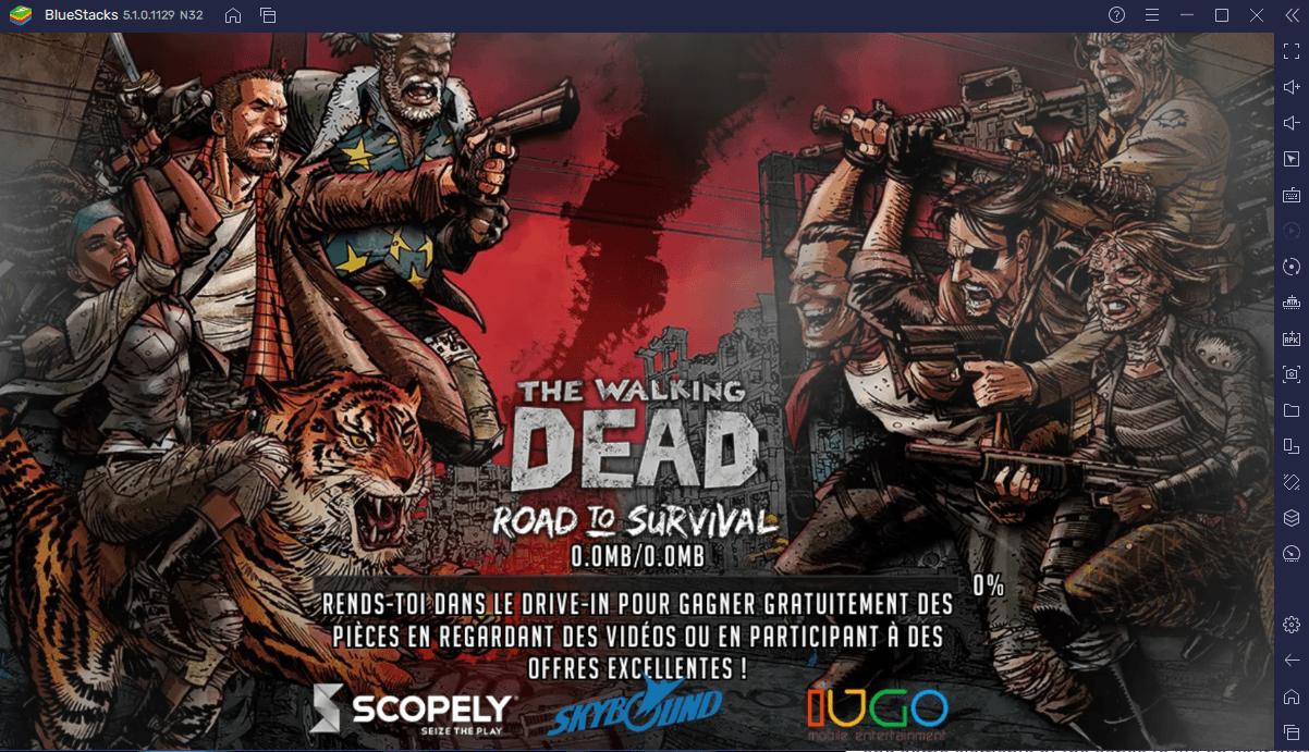 Gérer sa Ville dans The Walking Dead: Road To Survival