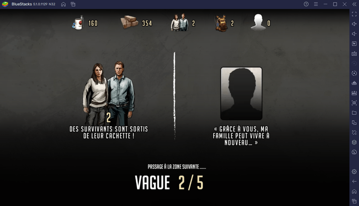 The Walking Dead: Road to Survival sur PC – le Guide du Terrain d'Entraînement