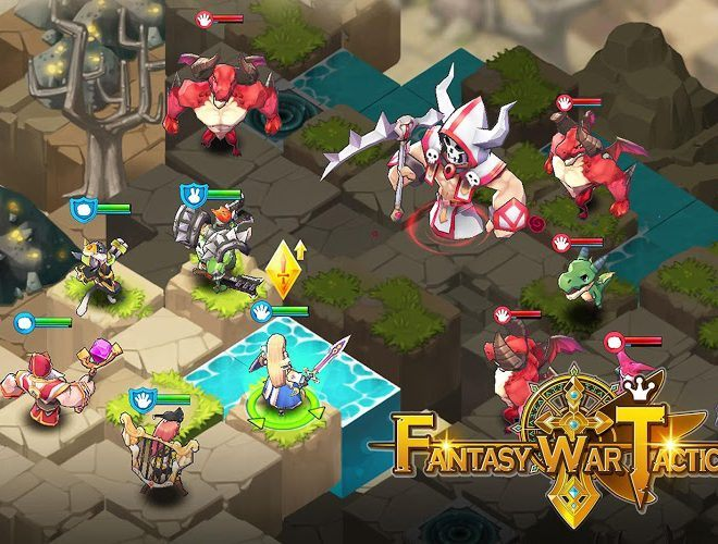 เล่น Fantasy War Tactics on PC 14